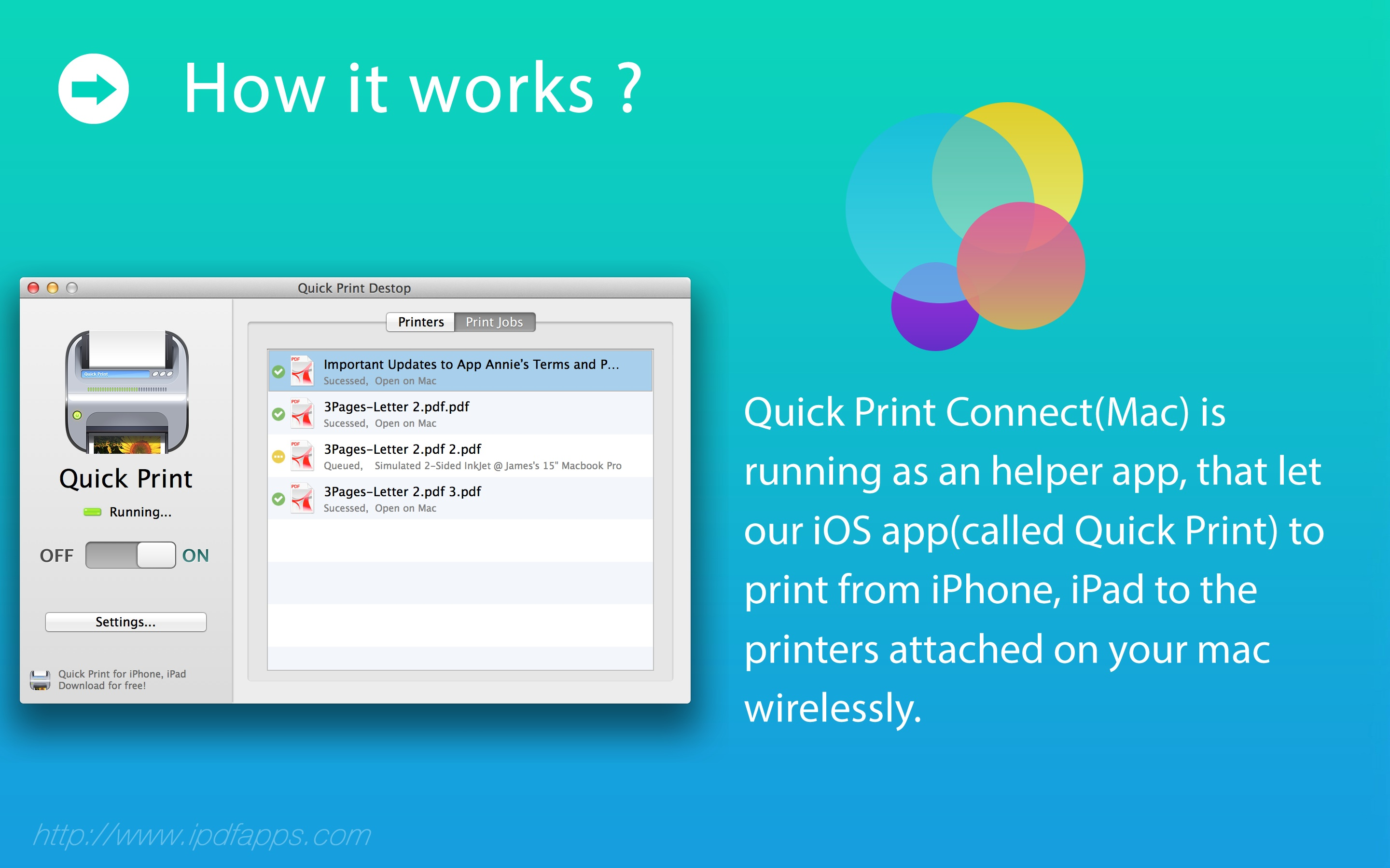 Quick Print Connect | iPDFApps Software