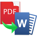 PDF to Word for Mac Icon