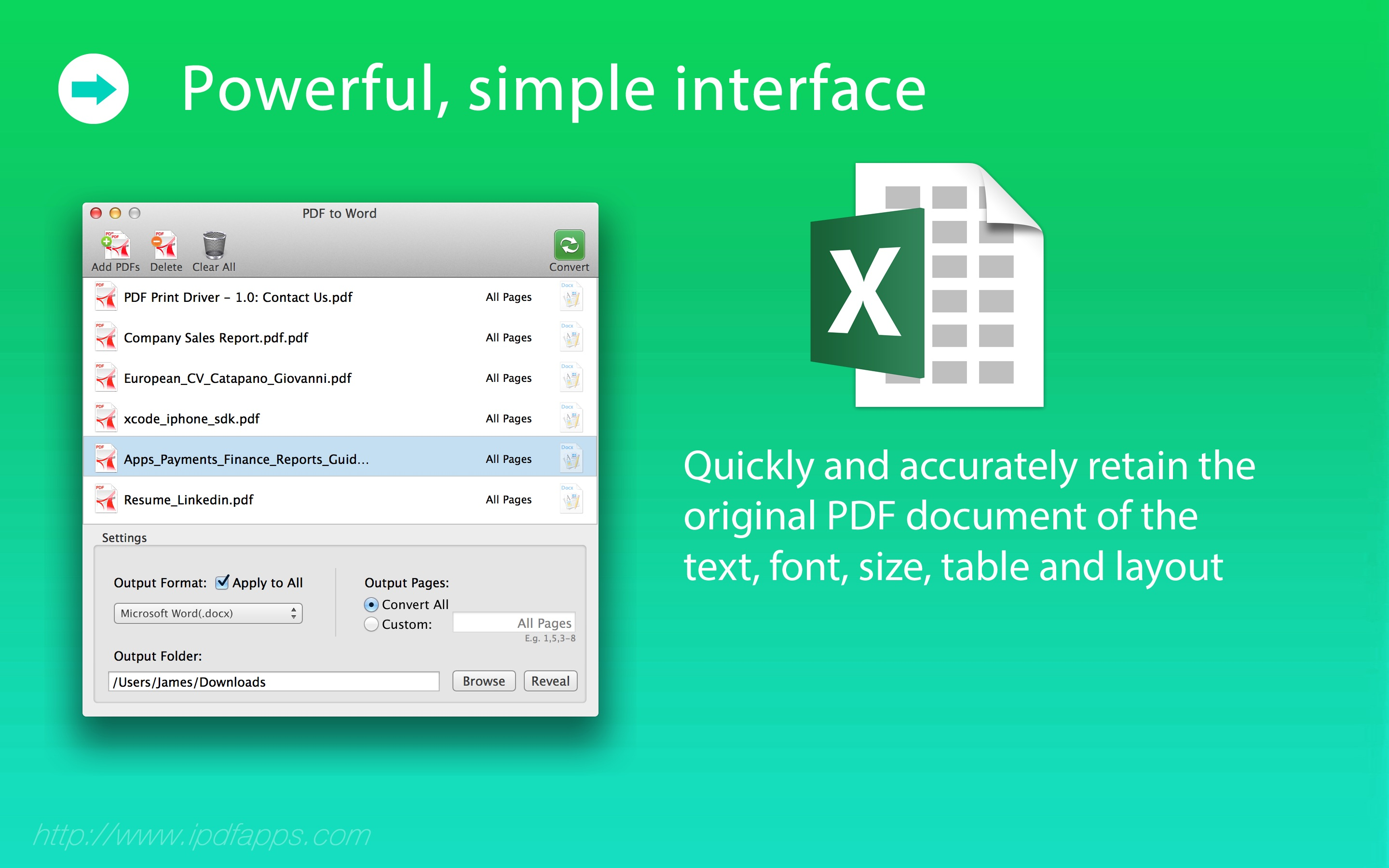 PDF to Excel - Easily Convert PDF into Excel
