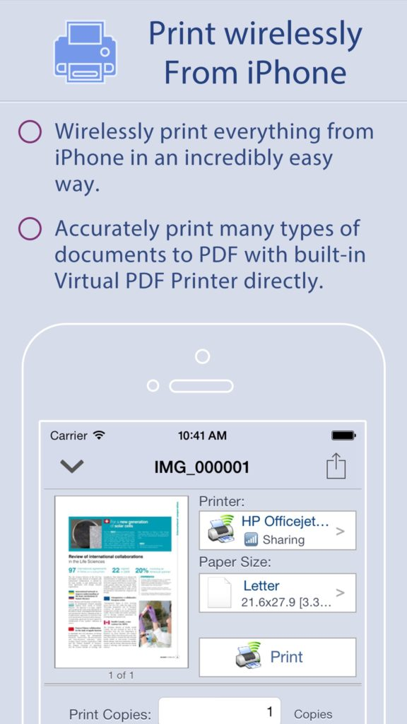 Quick Print | iPDFApps Software