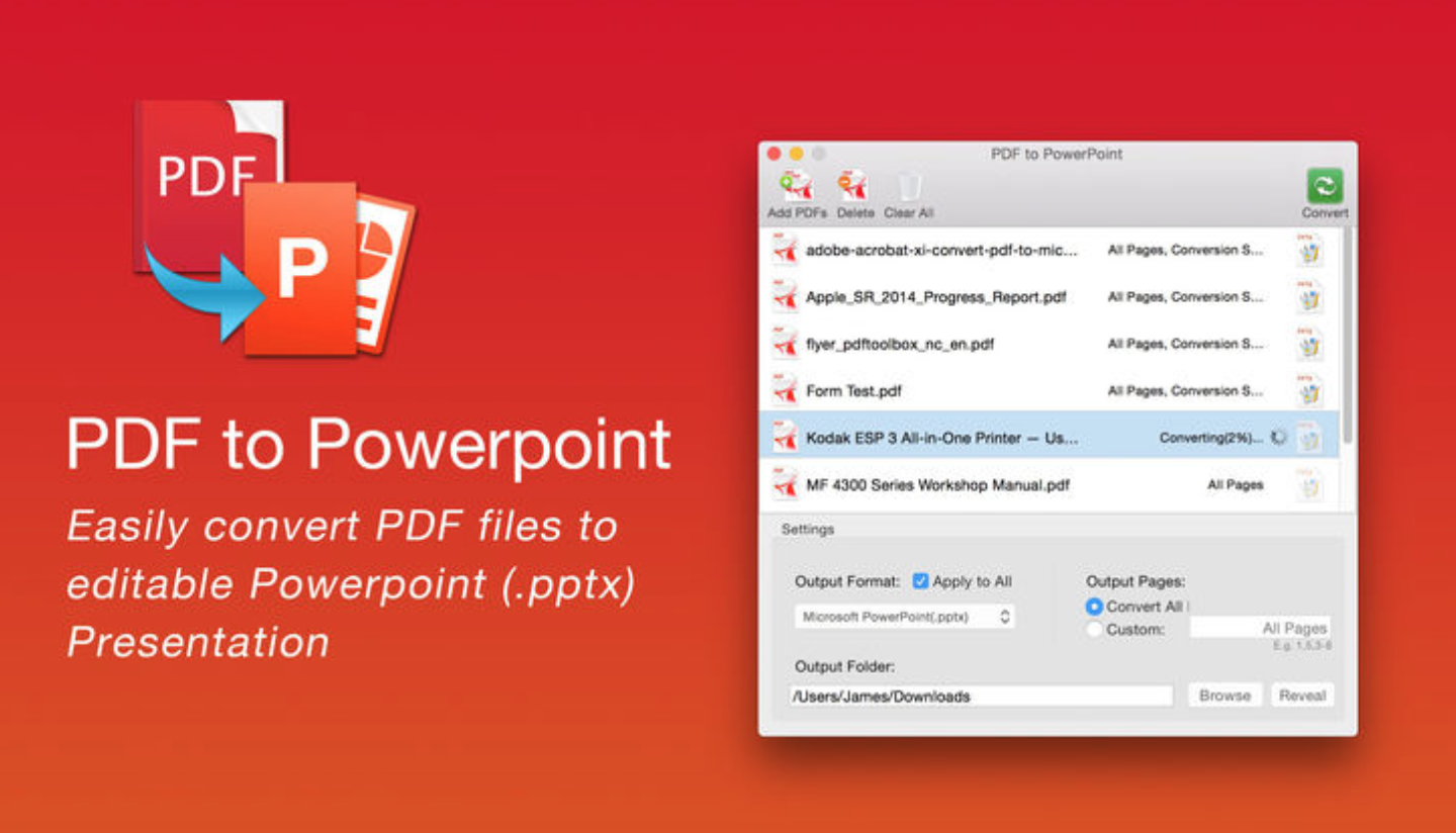 convert pdf to editable ppt free
